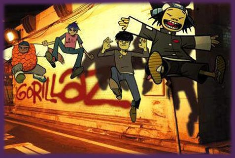 Enter to Gorillaz homepage